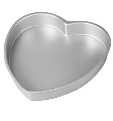 Molde para hornear forma corazón 25cm