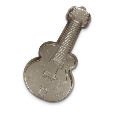 Molde guitarra para hornear