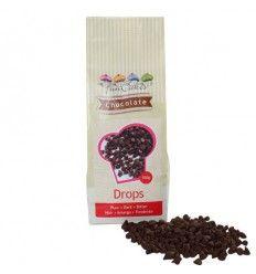 Pepitas chocolate negro resistente horneado, 350 gr