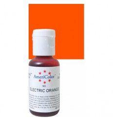Colorante en gel Eléctrico Naranja Americolor 21gr
