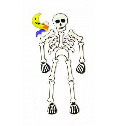 Set 6 cortadores esqueleto
