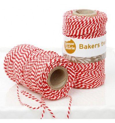Bakers twine rojo 20 metros