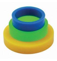 Set de 3 anillos guía para rodillo pequeño
