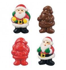 Molde para chocolates Papa Noel