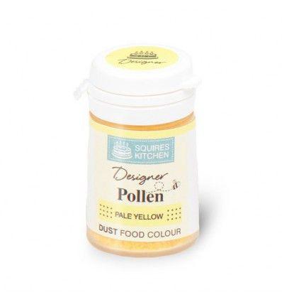 Colorante granos de polen, amarillo pálido