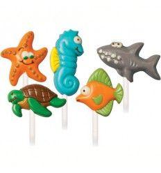 Molde para chocolate criaturas marinas
