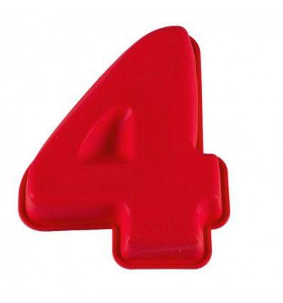 Molde silicona número 4
