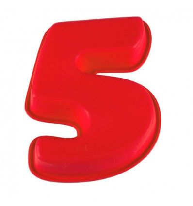 Molde silicona número 5
