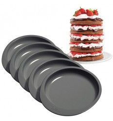 Set 5 moldes 15 cm para Layer Cakes