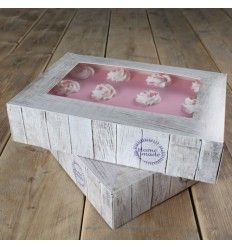 Cajas 36x25x8 cm 2 Ud -Modelo Home made