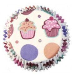 Cápsulas Mini Cupcake,100 Ud