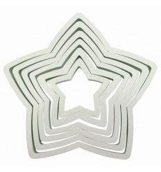 Cortadores Estrella , 6Ud