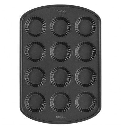 Molde para mini tartaletas, 12 cavidades