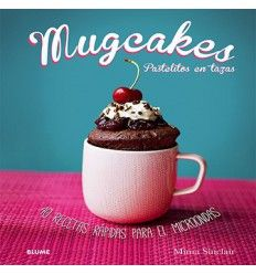 Mugcakes,Pastelitos en tazas