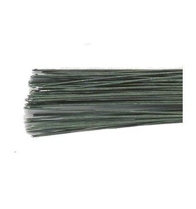 Alambre floral verde oscuro Culpitt Calibre 24