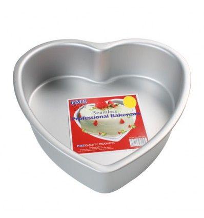 Molde para horno forma corazón 25x7,5 cm