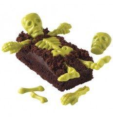 Molde para chocolate Huesos de Esqueleto