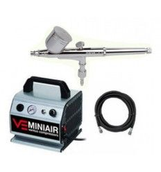 Kit Compresor Ventus Mini Air + Aerógrafo Basic 03