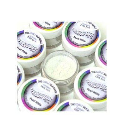 Polvo brillante Pearl White 3gr