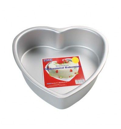 Molde corazón PME 15x7,5 cm