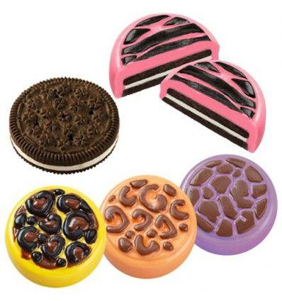 Molde para galletas de chocolate animales