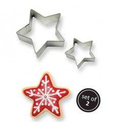 Cortador Estrellas 2 Tamaños