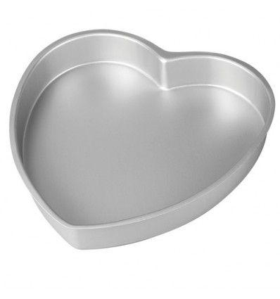 Molde corazón para hornear 15x5 cm