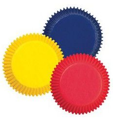 Mini cápsulas colores primarios Azul,Rojo y Amarillo, 100Ud