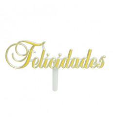 PICK FELICIDADES, PLASTICO