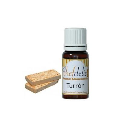 Aroma concentrado de Turrón chef delice 10ml