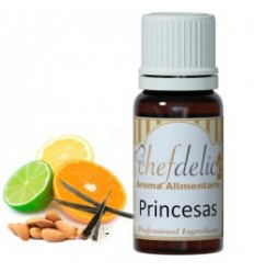 Aroma sabor Princesas chefdelíce 10ml