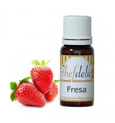 Aroma de Fresa, 10 ml Chefdelíce