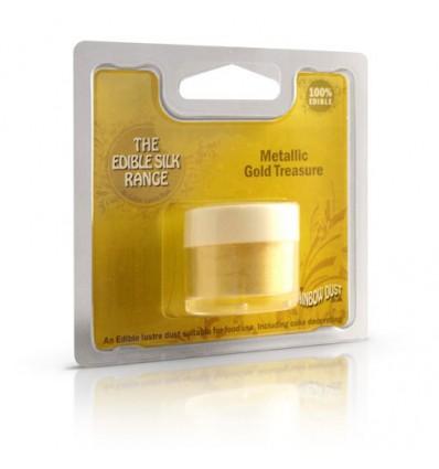 Polvo brillanet metálico Oro (Gold Treasure)