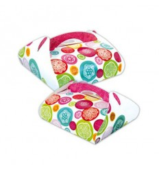 Caja con asa para tarta,Iris 27x27x15