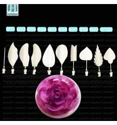 Set de Gubias, agujas para gelatina artística floral