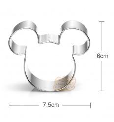 Cortador de galletas ratón Mickey