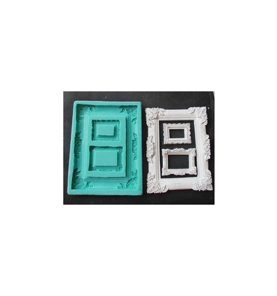 Molde silicona marcos de cuadros Grande