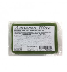 Fondant Azucren Elite Verde hoja 250 g