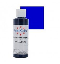 Colorante en gel Azul (Royal Blue) Americolor 128 gr
