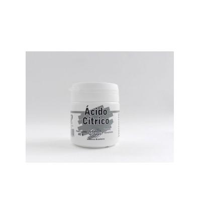 Polvo de ácido cítrico 40 g