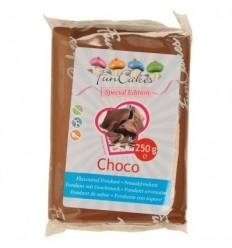 Fondant Funcakes Sabor Chocolate 250 gr