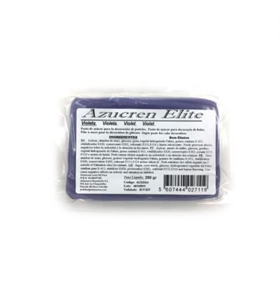 Fondant Azucren Elite violeta 250 g
