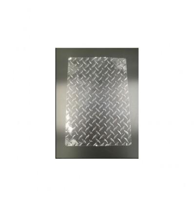 Tapete impresión textura Chapa metal
