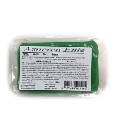 Fondant Azucren Elite Verde 250 g