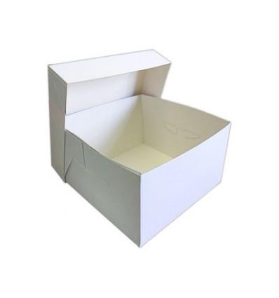 Caja FINA para tartas 20x20x15 cm