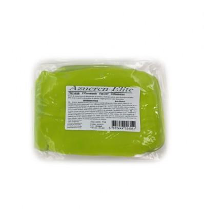 Fondant Azucren Elite Verde Fluorescente 1kg