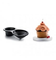 Molde Cupcake Gigante 3D-Ibili