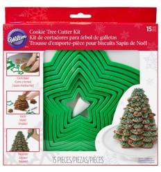 Set Árbol de Navidad con galletas Wilton