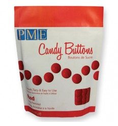 Candy Buttons Rojo 250gr