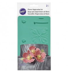 Nervador-texturizador de flores de silicona